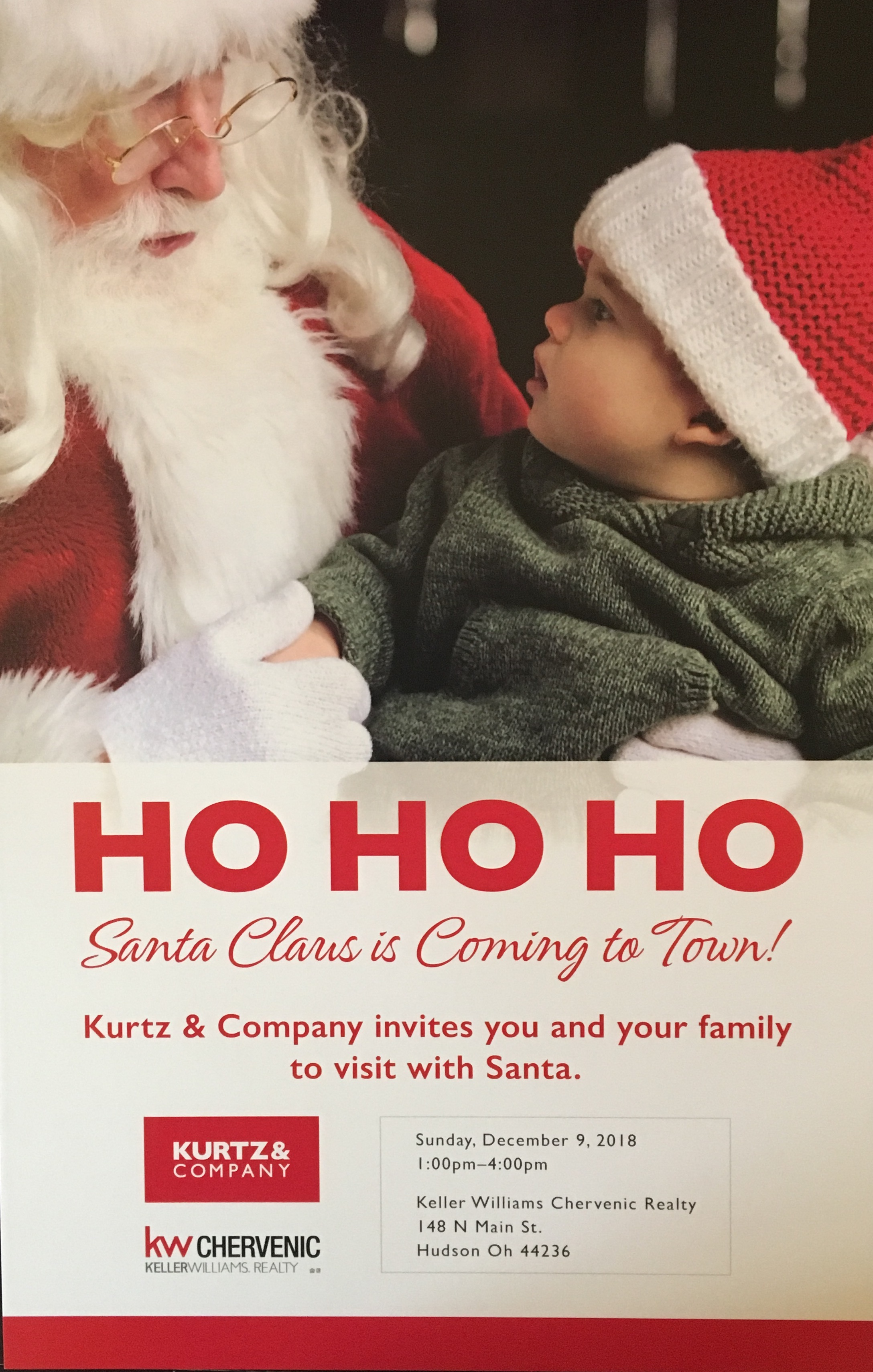 Santa Invite for FB